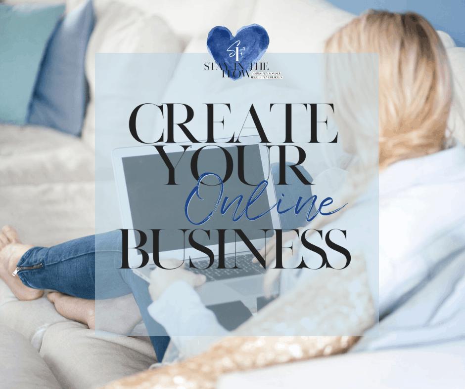 Presentatie Create your Online Business